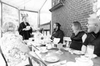 Huwelijk Theehuis 'Sprakel in het Bos'. Foto: Annabel Jeuring